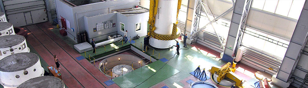 Production of equipment for nuclear power plants